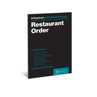 PEN CARB PAD A6 RESTAURANT ORDER RBE @ (Available On Order Only)