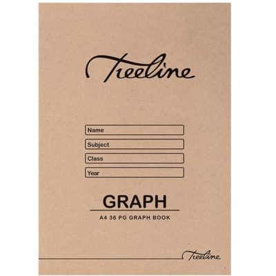 GRAPH BOOK A4 36PG @ (Available On Order Only)