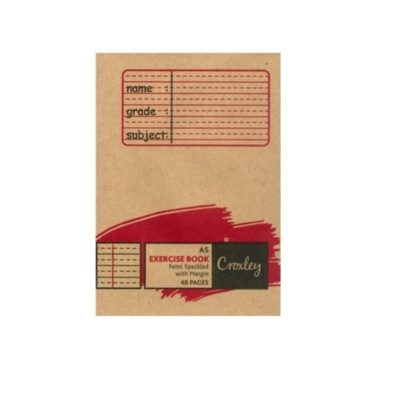 EXERCISE BOOK A5 48 PG FEINT AND MARGIN SPECKLED @ (Available On Order Only)