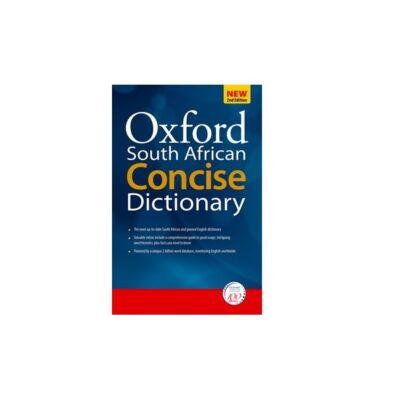 SA CONCISE OXFORD DICTIONARY