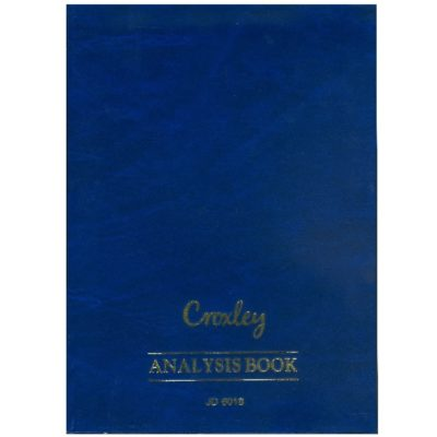 ANALYSIS BOOK A4 JD 6018 @ (Available On Order Only)