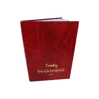 ANALYSIS BOOK PETTY CASH JD 478 @ (Available On Order Only)