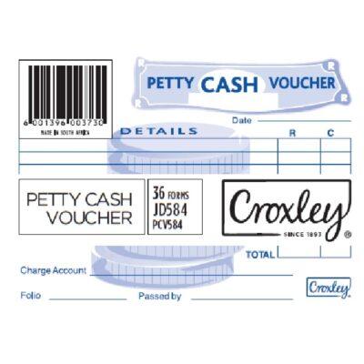PETTY CASH VOUCHER JD584