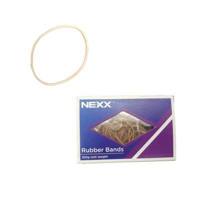 RUBBER BANDS 100G BOX NO:16