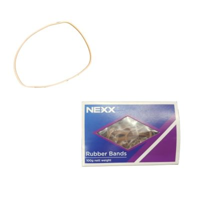 RUBBER BANDS 100G BOX NO:38