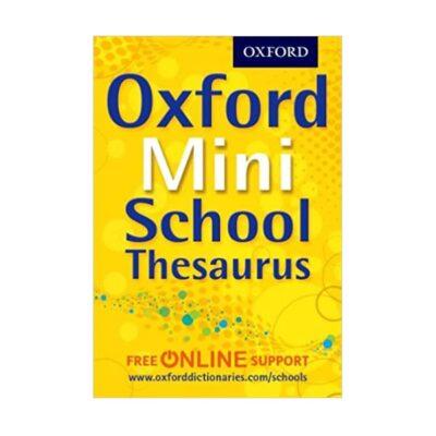 OXFORD MINI SCHOOL THESAURUS 4TH EDITION