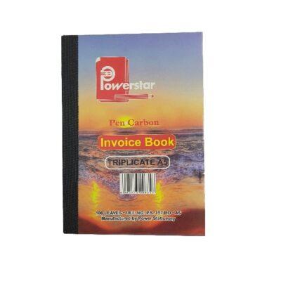 PEN CARBON BOOK A5 INVOICE TRIPLICATE