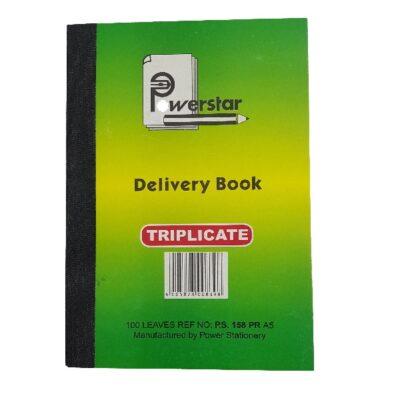 PEN CARBON BOOK A5 DELIVERY TRIPLICATE