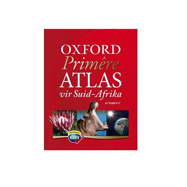 ATLAS OXFORD PRIMERE SA AFRIKAANS GR 4-7