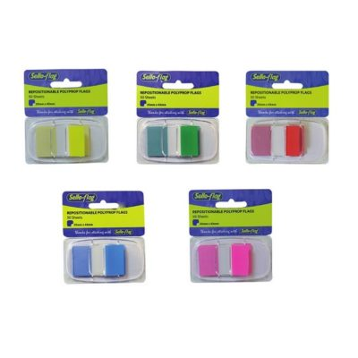 TABS 25 X 43MM ASSORTED