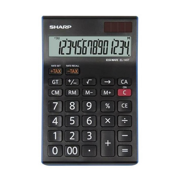 CALCULATOR SHARP EL145T BL @ (Available On Order Only)