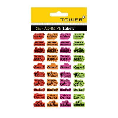 TOWER TEACHER REWARD STICKERS