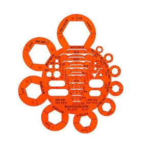 STENCIL NUTS AND BOLTS