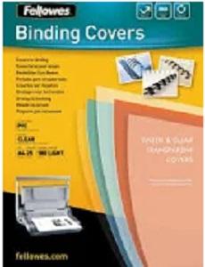 BINDING COVERS TRANSPARENT