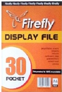 DISPLAY FILE FIREFLY 30 POCKET