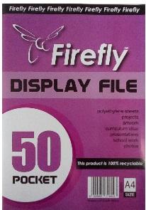 DISPLAY FILE FIREFLY 50 POCKET