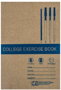 EXERCISE BOOK A4 32 PG FEINT AND MARGIN @ (Available On Order Only)