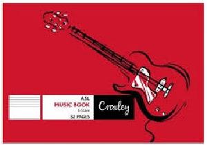 MUSIC BOOK A5L 32 PG JD180