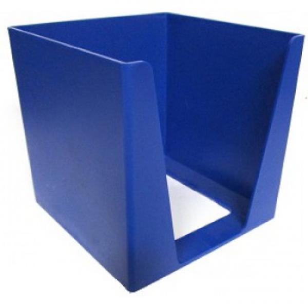 MEMO CUBE HOLDER BLUE