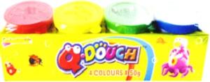 DOUGH PLAY Q-DOUGH 4 X 50g