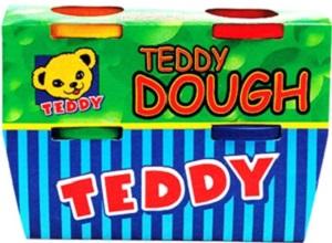 PLAY DOUGH TEDDY 4 X 100 ML