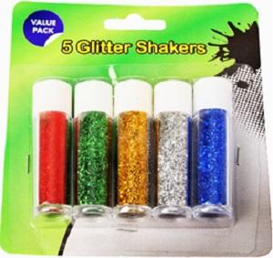 GLITTER SHAKER 5 PCE