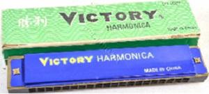 HARMONICA 20 DOUBLE HOLE VICTORY