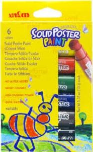 PAINT POSTER STICK 6 COLOURS