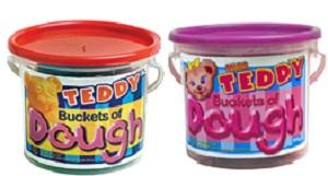 PLAY DOUGH TEDDY TUBS 1 KG