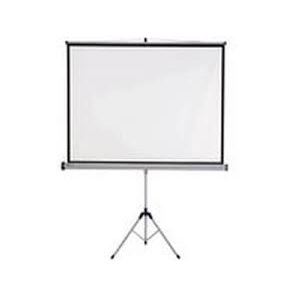 PROJECTOR SCREEN AND TRIPOD 1520X1520