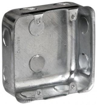 BOX WALL GALVANISED 4 X 4