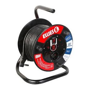 EXTENSION REEL AND SURGE PROTECTOR 20 M