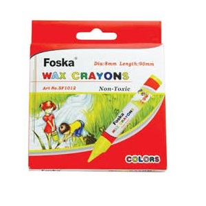 FOSKA CRAYONS 12'S