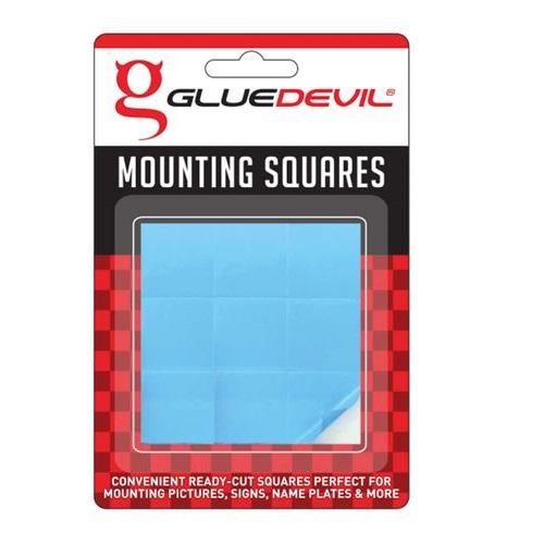MOUNTING SQUARES GLUE DEVIL 9's