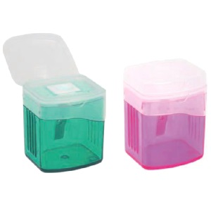 SHARPENER 1 HOLE WITH CONTAINER ARK