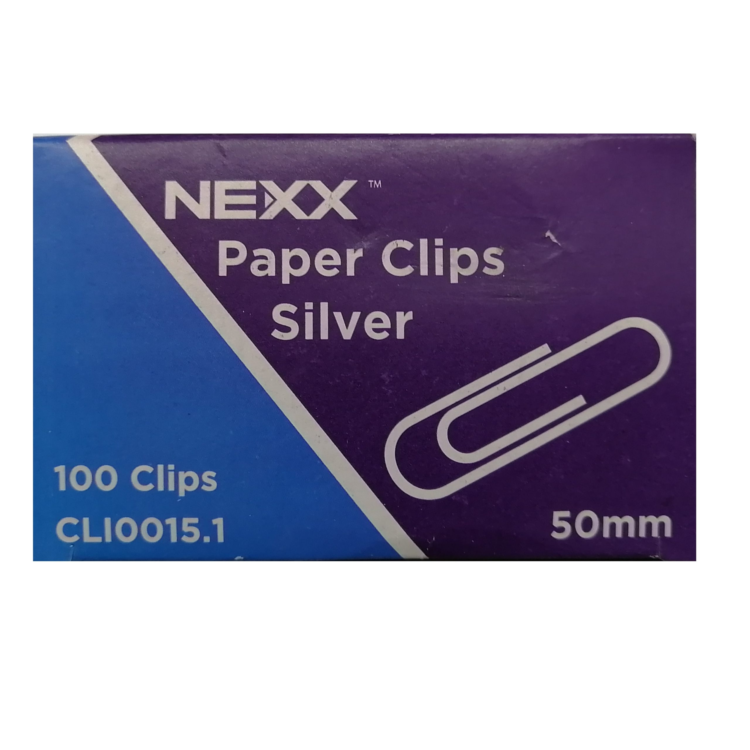 PAPER CLIPS 50MM SILVER