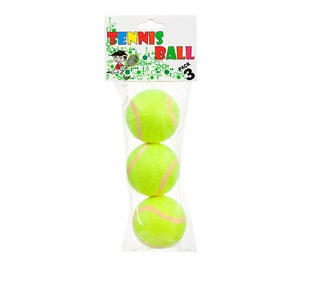 TENNIS BALLS 3 PK