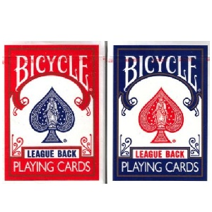 PLAYING CARDS BICYCLE LEAGUE