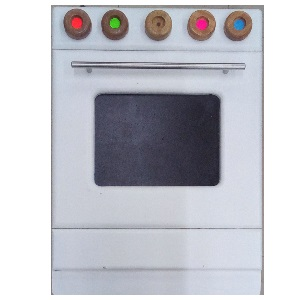 WOODEN TOY OVEN