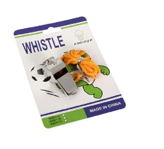 WHISTLE STAINLESS STEEL WITH STRING