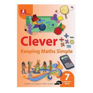 CLEVER KEEPING MATHS SIMPLE GRADE 7 LEARNER'S BOOK