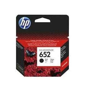INK CARTRIDGE HP 652 BLACK ORIGINAL
