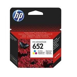 INK CARTRIDGE HP 652 TRI-COLOUR ORIGINAL
