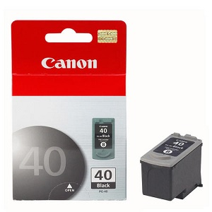 INK CARTRIDGE CANON 40 BLACK ORIGINAL (Available On Order - 5 Days Dispatch) (Clearance Sale)