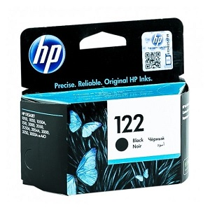 INK CARTRIDGE HP 122 BLACK ORIGINAL (Available On Order - 5 Days Dispatch) (Clearance Sale)