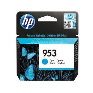INK CARTRIDGE HP 953 COLOUR CYAN ORIGINAL @ (Available On Order Only)