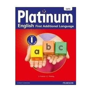 PLATINUM ENGLISH FIRST ADDITIONAL LANGUAGE GRADE 1