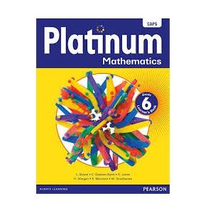 PLATINUM MATHEMATICS GRADE 6 LEARNER'S BOOK