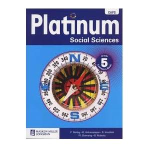 PLATINUM SOCIAL SCIENCES GRADE 5 LEARNER'S BOOK