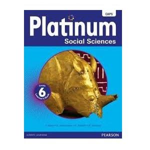 PLATINUM SOCIAL SCIENCES GRADE 6 LEARNER'S BOOK